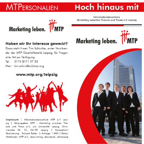MTP Image Broschüre