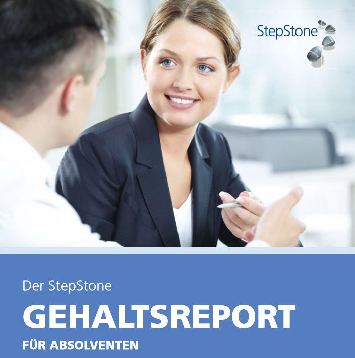 Stepstone, Gehaltsreport, Gehaltscheck Absolventen, Einstiegsgehalt